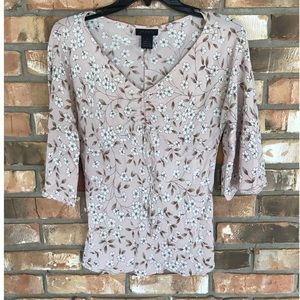 The Limited Silk Floral Top      Small